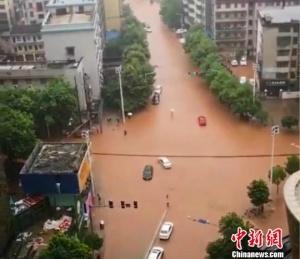 湖南启动防汛Ⅳ级应急响应 拉响暴雨橙色预警