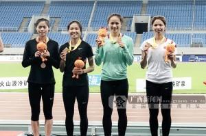 2019全國田徑錦標賽落幕:廣西隊女子4×400米摘銅
