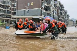 广西提升暴雨应急响应为Ⅱ级 桂北防汛形势严峻