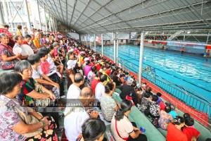 广西体育场组织专家为市民举办游泳安全知识讲座