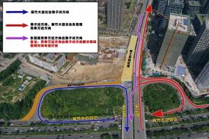 南宁东葛路延长线施工路段7月16日早恢复双向通行