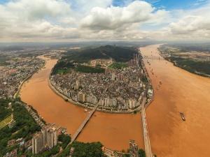 今年西江2号洪水将通过梧州 预计水位达20米左右
