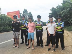 老乡结伙抢劫货车 5名嫌犯被南宁警方抓获