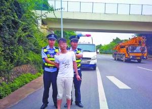 南宁警方雷霆出击 一举打掉一公路抢劫团伙(组图)