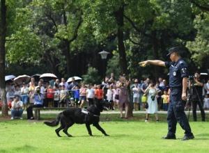 湖南举行警营开放日活动