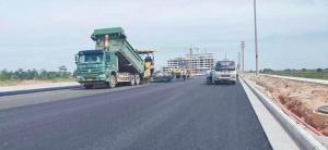 连接北海海洋产业园的道路全线通车