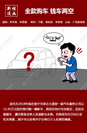 【新桂漫画】全款购车 钱车两空