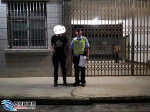 男子从广东骑行回家晕倒 获贺州警察伸出援手