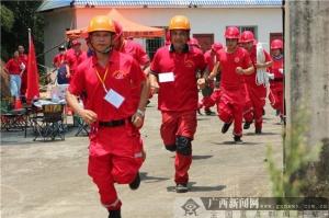 广西爱新救援开展集训演练 提高综合救援技能