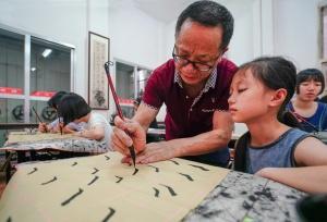 龙胜开设少儿暑假免费培训班 丰富孩子暑期生活
