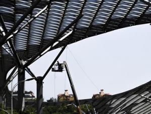 重庆:高温下的劳动者