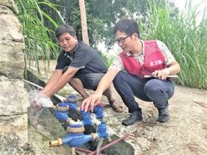 忻城县北更乡塘太村:近3500名群众将告别饮水难