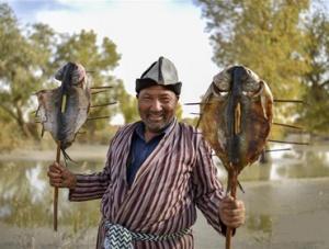 胡杨伴我品鱼鲜