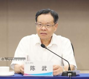 """陳武:高質量高水平籌辦好""""兩會"""""""