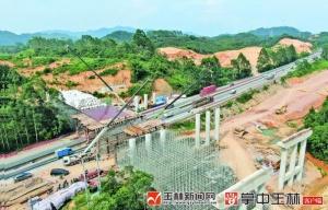 荔浦至玉林高速公路計劃提前至2020年底建成通車