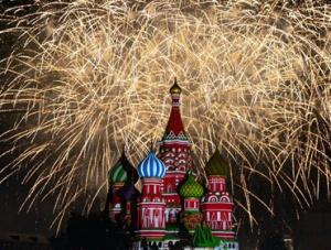 """""""救世主塔楼""""国际军乐节在莫斯科开幕"""