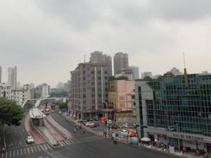 8月26日焦点图:南宁出现中雨及局部暴雨天气