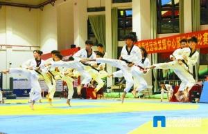 廣西大眾跆拳道聯賽在北海舉辦