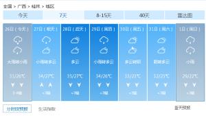 桂林人期盼已久的涼爽天氣終于來了 但這些要注意