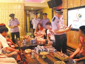8月30日中心图:北宁警圆展开浑查整治散开同一动做