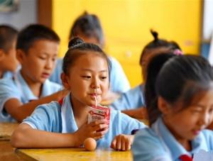 河北:农村小学生享受免费营养餐