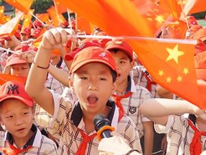 高清图集:南宁多所学校开展2019秋季学期开学典礼