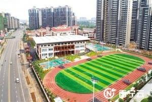 南宁良庆区两所学校投入使用 能容纳学生约3000人