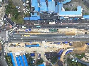 9月3日焦点图:南宁地铁5号线线路色为邕水蓝