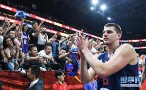 篮球世界杯小组赛:塞尔维亚队胜意大利队
