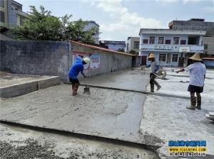 防城区珠河街道冲仑村公共文化服务中心提高硬件设施建设