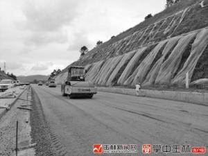 玉湛高速施工提速 力争国庆半幅贯通