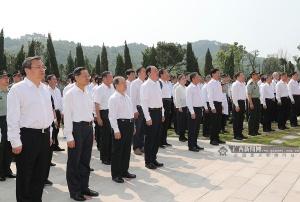 红军长征湘江战役纪念设施在桂林全州落成