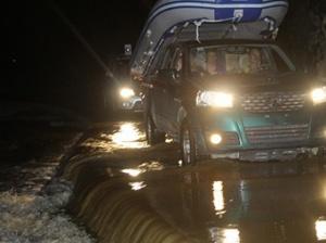 隆林遭遇强降雨天气 多地出现内涝