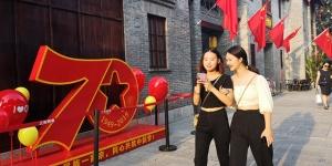 焦点图:广西各地喜迎国庆氛围浓