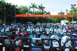 南宁警方打掉6个盗窃电动车的团伙 缴获赃车114辆