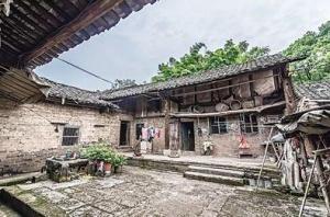 村民花1万元买四合院 一间屋为清代建筑