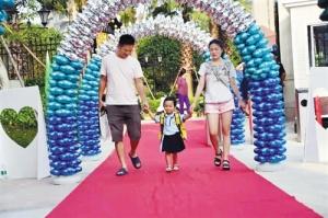南宁市首家政府委托国企运营的普惠性幼儿园开学