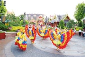 南宁方特东盟神画举办首届东盟文化节