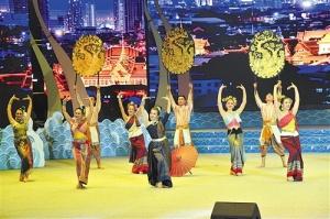 中国-东盟(南宁)戏剧周大联欢举行