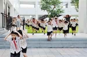 南宁市中小学幼儿园开展国防教育主题活动