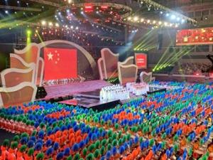 第21届南宁国际民歌节开演 来感受现场热情(视频/图)