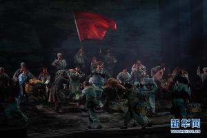 徐州梆子現代戲《母親》在南京上演