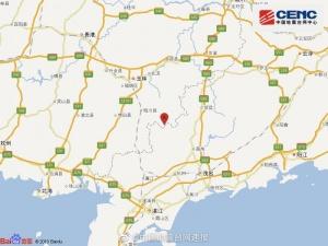突發!廣西玉林市北流市附近發生5.2級地震,南寧震感明顯!