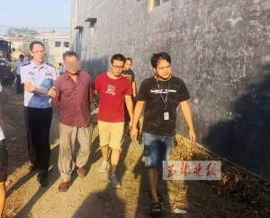 玉林一男子杀人后潜逃23年 被抓时对民警说