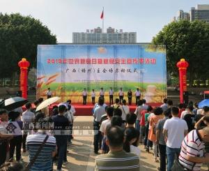 广西启动2019年世界粮食日和粮食安全宣传周活动