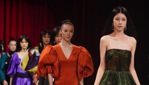 第三届中国生态环保面料设计大赛时尚秀举行