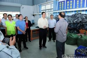中国人寿总裁袁长清到龙州县和天等县调研
