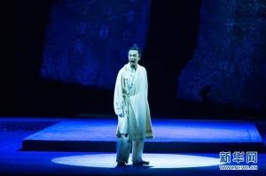 北京人艺话剧《司马迁》在俄上演