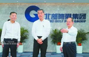 全国政协副主席梁振英在桂考察