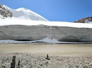 美丽廓琼岗日冰川
